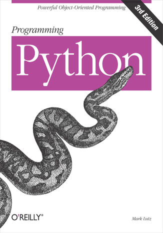 Okładka książki Programming Python. 3rd Edition
