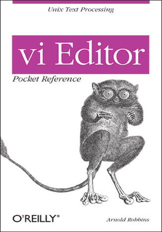 Okładka książki/ebooka vi Editor Pocket Reference