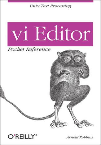 Okładka książki vi Editor Pocket Reference