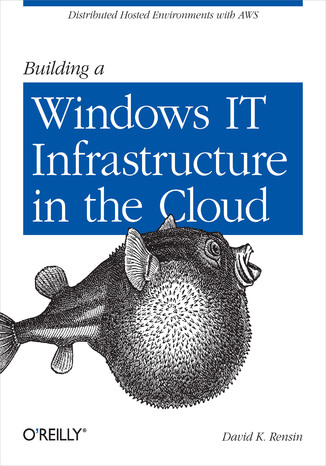 Okładka książki/ebooka Building a Windows IT Infrastructure in the Cloud. Distributed Hosted Environments with AWS