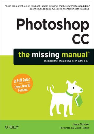 Okładka książki/ebooka Photoshop CC: The Missing Manual