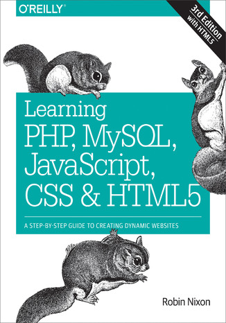 Okładka książki Learning PHP, MySQL, JavaScript, CSS & HTML5. A Step-by-Step Guide to Creating Dynamic Websites. 3rd Edition