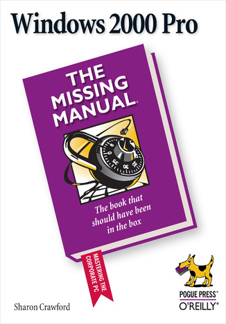 Okładka książki/ebooka Windows 2000 Pro: The Missing Manual. The Missing Manual