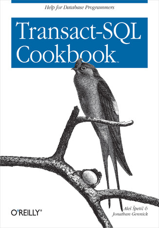 Okładka książki/ebooka Transact-SQL Cookbook