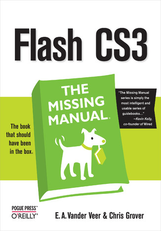 Okładka książki Flash CS3: The Missing Manual