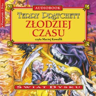 Okładka książki Złodziej czasu