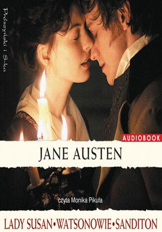 Okładka książki Lady Susan. Watsonowie. Sanditon