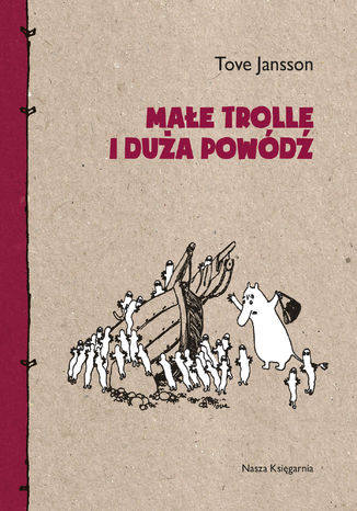 Okładka książki Małe trolle i duża powódź