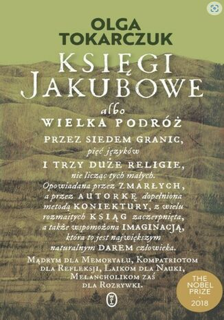 Okładka książki/ebooka Księgi Jakubowe