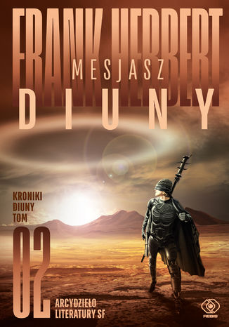 Okładka książki Kroniki Diuny (#2). Mesjasz Diuny