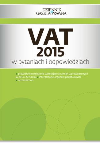 Okładka książki VAT 2015 w pytaniach i odpowiedziach