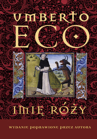 Okładka książki Imię róży Wydanie poprawione przez autora