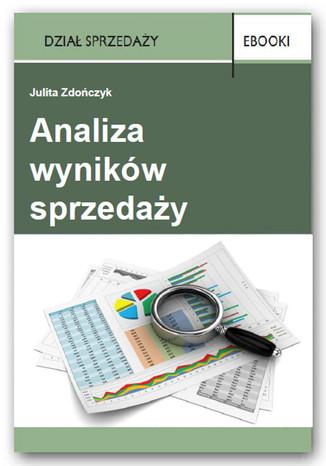 Okładka książki/ebooka Analiza wyników sprzedaży