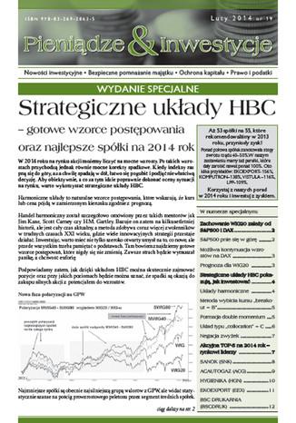 Okładka książki Strategiczne układy HBC - gotowe wzorce postępowania oraz najlepsze spółki na 2014 rok