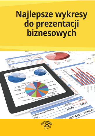 Okładka książki/ebooka Najlepsze wykresy do prezentacji biznesowych