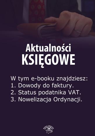 Aktualności księgowe, wydanie czerwiec 2014 r