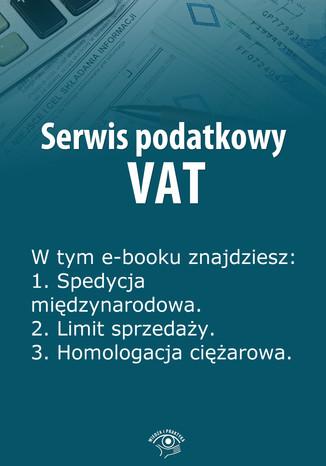 Serwis podatkowy VAT, wydanie sierpień 2014 r