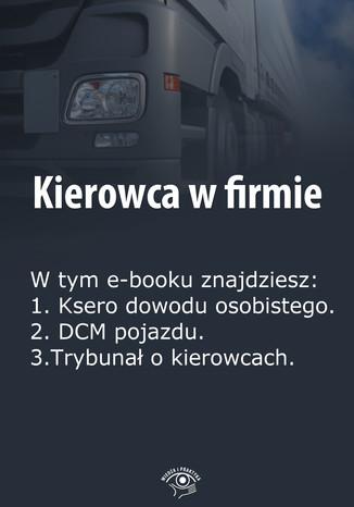 Kierowca w firmie, wydanie styczeń 2014 r