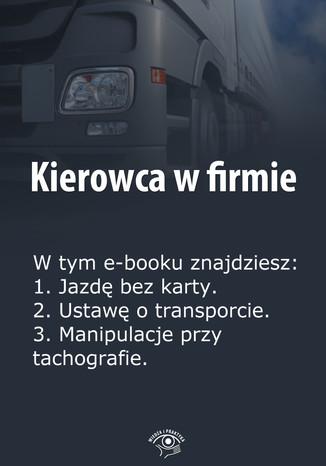 Kierowca w firmie, wydanie specjalne marzec 2014 r