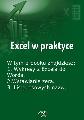 Okładka książki Excel w praktyce, wydanie lipiec 2014 r