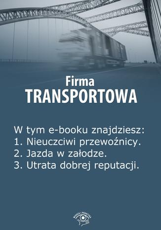 Okładka książki/ebooka Firma transportowa, wydanie lipiec 2014 r