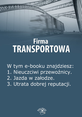 Okładka książki Firma transportowa, wydanie lipiec 2014 r