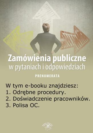 Zamówienia publiczne w pytaniach i odpowiedziach, wydanie maj 2014 r