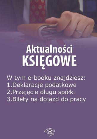 Okładka książki Aktualności księgowe, wydanie wrzesień 2014 r