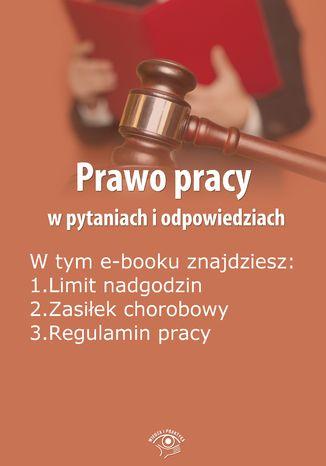 Prawo pracy w pytaniach i odpowiedziach, wydanie kwiecień 2014 r