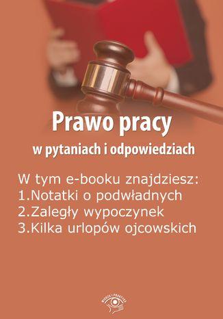 Okładka książki/ebooka Prawo pracy w pytaniach i odpowiedziach, wydanie wrzesień 2014 r