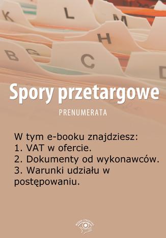 Spory przetargowe, wydanie maj 2014 r