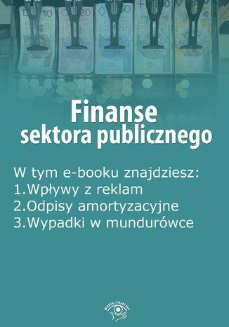 Okładka książki Finanse sektora publicznego, wydanie październik 2014 r