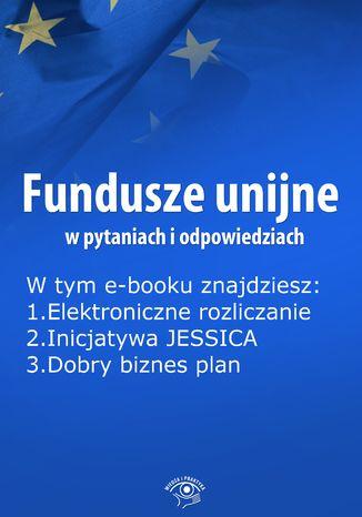 Okładka książki Fundusze unijne w pytaniach i odpowiedziach, wydanie październik 2014 r