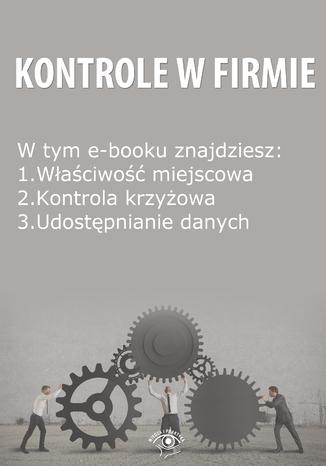 Kontrole w Firmie, wydanie wrzesień 2014 r