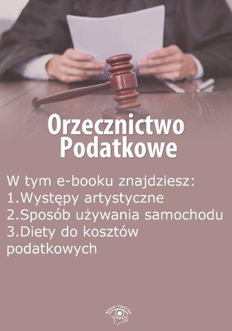 Okładka książki Orzecznictwo podatkowe, wydanie październik 2014 r