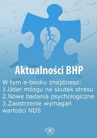 Aktualności BHP, wydanie wrzesień 2014 r