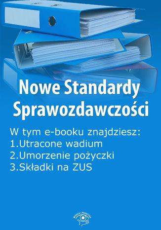 Okładka książki Nowe Standardy Sprawozdawczości , wydanie kwiecień 2014 r. część II