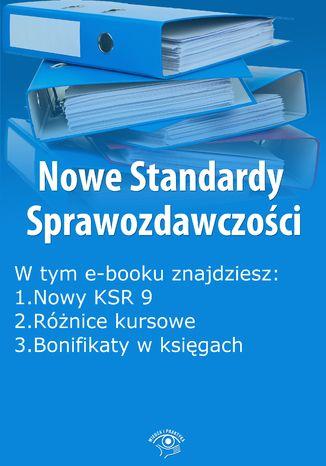 Okładka książki Nowe Standardy Sprawozdawczości , wydanie czerwiec 2014 r. część I