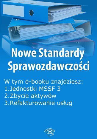 Okładka książki Nowe Standardy Sprawozdawczości , wydanie lipiec 2014 r. część II