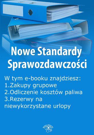 Okładka książki Nowe Standardy Sprawozdawczości , wydanie wrzesień 2014 r. część II