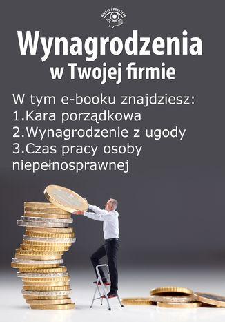 Okładka książki Wynagrodzenia w Twojej firmie, wydanie wrzesień 2014 r. część II