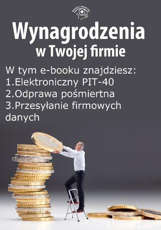 Okładka książki Wynagrodzenia w Twojej firmie, wydanie październik 2014 r. część I