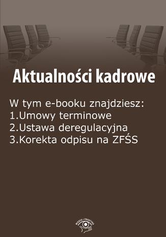 Aktualności kadrowe, wydanie grudzień 2014 r