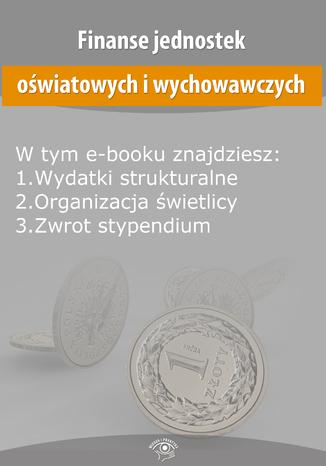 Finanse jednostek oświatowych i wychowawczych, wydanie kwiecień 2014 r
