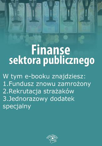 Okładka książki Finanse sektora publicznego, wydanie listopad 2014 r