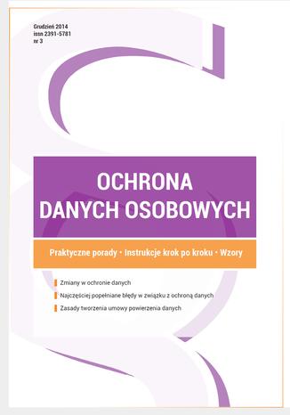 Ochrona danych osobowych - wydanie grudzień 2014 r