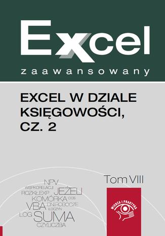 Okładka książki/ebooka Excel w dziale księgowości, cz. 2