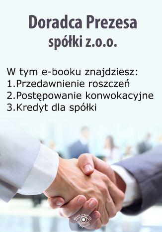 Doradca Prezesa spółki z o.o., wydanie wrzesień-październik 2014 r