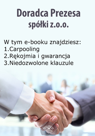 Doradca Prezesa spółki z o.o., wydanie listopad-grudzień 2014 r