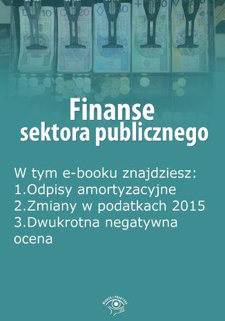 Finanse sektora publicznego, wydanie styczeń 2015 r